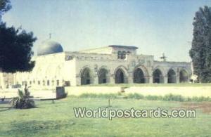 Jerusalem, Israel El Aqsa Mosque El Aqsa Mosque