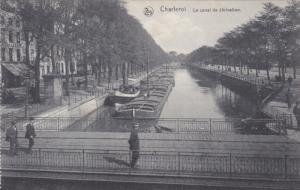 CHARLEROI, Hainaut, Belgium, 1900-1910's; Le Canal De Derivation