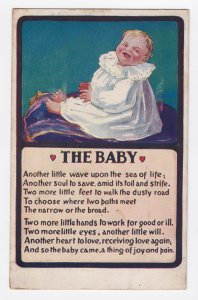 1911 The Baby Postcard - Bamforth & Co England - Artcolor Series 111 Posted