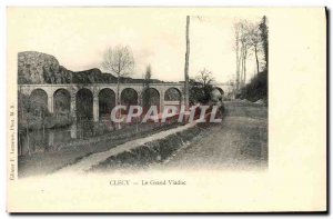 Old Postcard Clecy Grand Viaduct