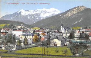 Salzkanimergut Austria Bad Ischl von Villa Starhemberg Salzkanimergut Bad Isc...