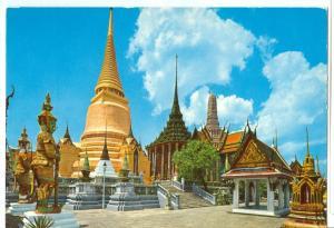 Thailand, Inside the Emerald Buddha Temple (Wat Phra Keo), Bangkok, unused