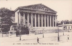 France Paris Le Chambre des Deputes