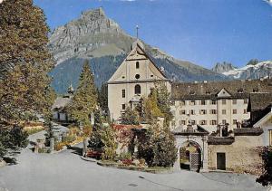 Switzerland Kloster Engelberg mit Hahnen und Spannorter