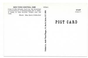 New York Central Railroad 2385 ALCO Class H-10b Mikado