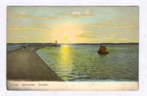 Sunset. Halmstad. Sweden , 1890s-1905