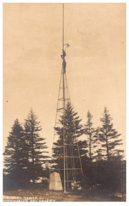 Maine Boothbay Harbor  U S Signal Tower Commonwealth Art Colony  RPC
