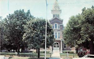 Franklin Kentucky Court House Vintage Postcard J52322