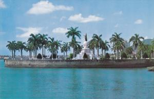 PANAMA, 1940-1960's; Statue of Vasco Nunez de Balboa