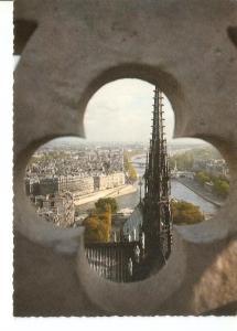 Postal 034487 : Paris vu des tours de Notre-Dame