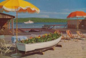 Starnberger See Undosa Bad Mit MS Tutzing Boat Of Flowers German Postcard