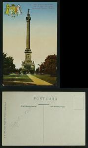 Brock's Monument Queenston Heights unused circa 1920s