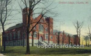 Christian College Columbia MO 1915