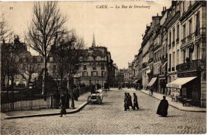 CPA CAEN - La Rue de Strasbourg (383597)