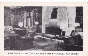 Interior, Kate Macy Ladd Convalescent Home, Far Hills, New Jersey, 1910-1920s...