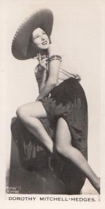 Dorothy Hedges Hollywood Actress Rare Real Photo Cigarette Card