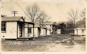 LP91 Cumberland Maryland HWY40 Camp Roadside Cabins    RPPC  Postcard