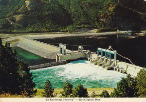 Canada Keenleyside Dam Castlegar British Columbia
