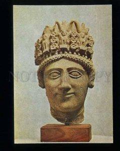 180159 CYPRUS female head high headdress old postcard