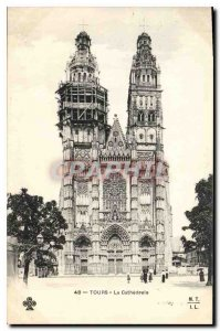 Old Postcard The Cathedral Tours