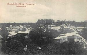 German East Africa Tanzania Bagamoyo, Gesamtansicht General View Postcard