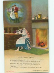 Bamforth ROMANTIC COUPLE Great Postcard AA7470