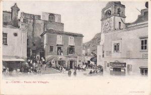 Piazza del Villaggio- CAPRI , Italy , 00-10s