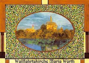 Wallfahrtskirche Maria Woerth der beliebte Bade und Wallfahrtsort Woerthersee