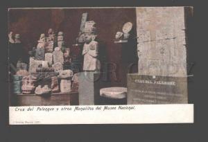 086987 MEXICO Cruz del Palenque y otros Monolitos Vintage PC
