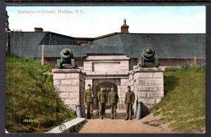 Entrance to Citadel,Halifax,Nove Scotia,Canada