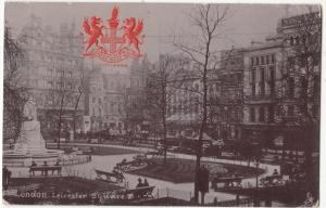UK, London, Leicester Square, 1905 used Postcard