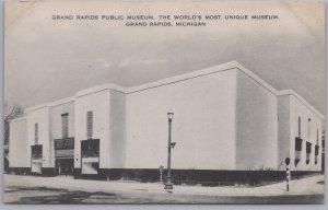 Grand Rapids, Mich., Grand Rapids Public Museum, Worlds Most Unique Museum-1953