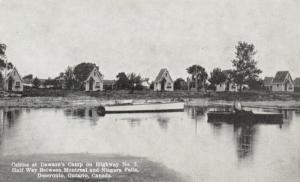 DESERONTO, Ontario , Canada , 1930s; Dawson's Camp Cabins