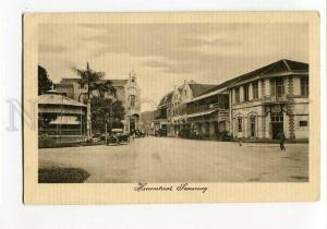 271041 INDONESIA HOLLAND INDIA Semarang CARS Vintage postcard