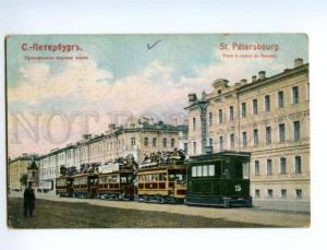 137506 Russia Saint PETERSBURG Suburban steam tram on Nevsky