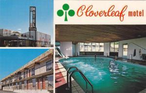 3-views, Heated Swimming Pool, Cloverleaf Motel,  Trans-Canada Hwy., 53, Medi...
