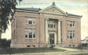Public Library Middleboro MA 1909