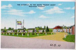 Gateway to the South Tourist Court, Hagerstown Md