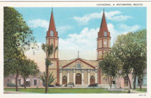 Matamoros , Mexico , 1910-20s ; Cathedral