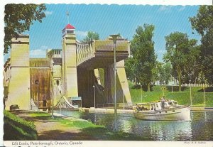 Canada Postcard - Lift Locks - Peterborough - Ontario   AB369