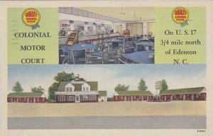 North Carolina Edenton Colonial Motor Court