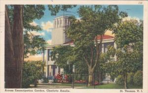St Thomas Charlotte Amalie Across Emancipation Garden 1956