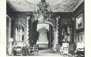 Romania Sinaia Muzeul Peles Apartamentul Imperial carte postala