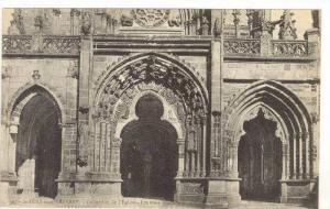 Collection De l'Eglise, Les Trois Portails, St.PERE-sous-Vézelay (Yonne), Fr...