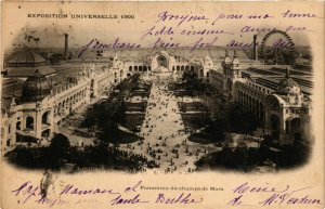 CPA PARIS EXPO 1900 Panorama du Champ de Mars (709977)