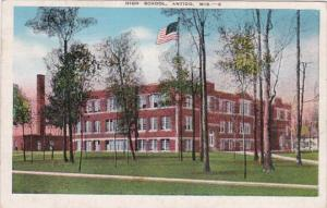 High School Antigo Wisconsin 1948