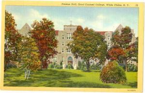 Preston Hall, Good Counsel College, white Plains, NY, New York, Linen
