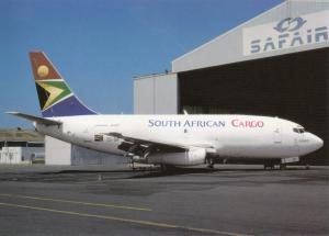 SOUTH AFRICAN CARGO, Boeing-737-244F, unused Postcard