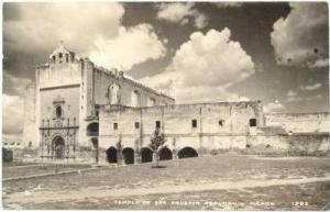RP, Templo de San Agustin Acolman, Mexico, 1920