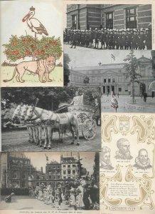 Netherlands - Royalty Postcard Lot of 21 -  01.04